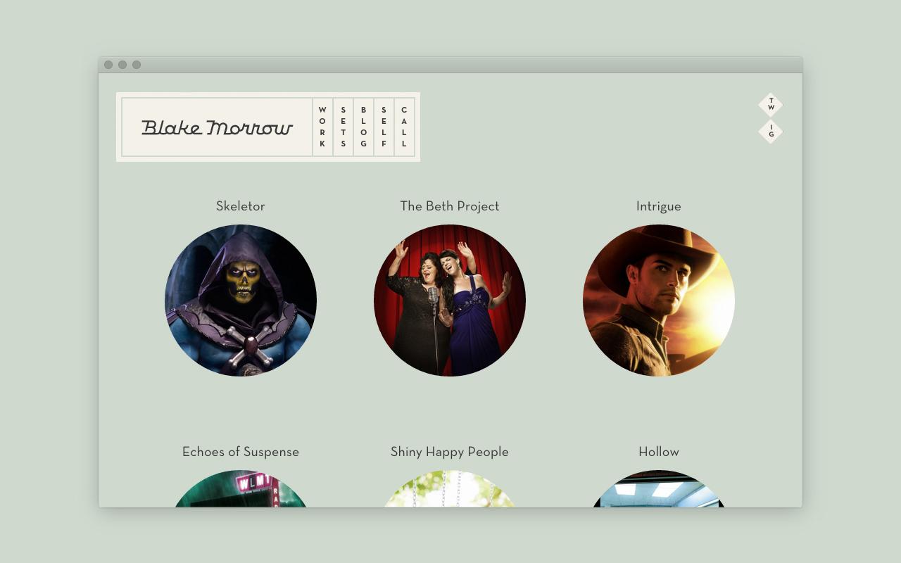 Website: Sets Page