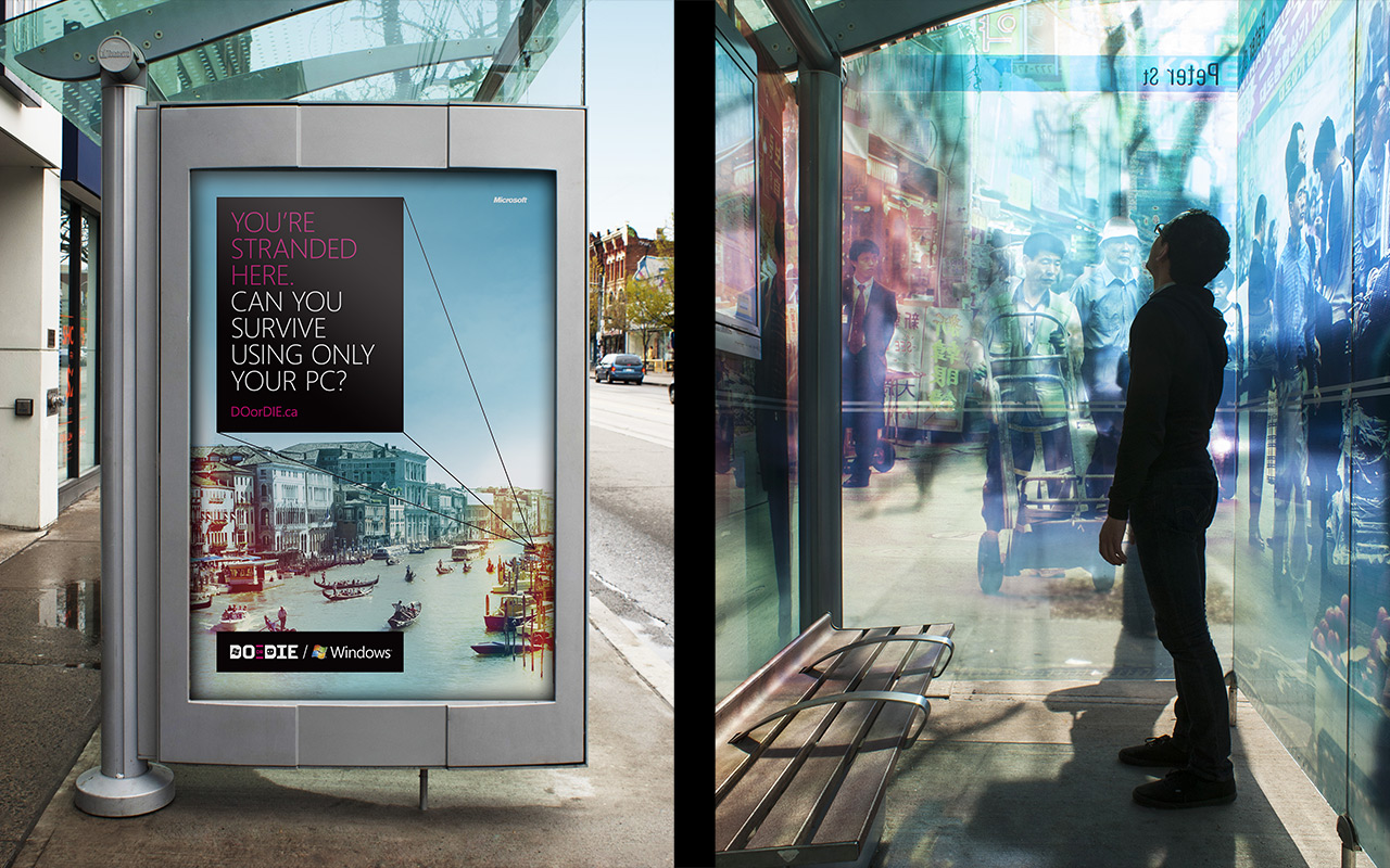 Transit Shelter Advertising
